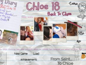 Chloe18 - Back To Class PC Game Walkthrough Free Download for Mac
