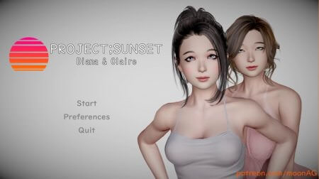 Project;Sunset - Diana & Claire Game Walkthrough Download for PC