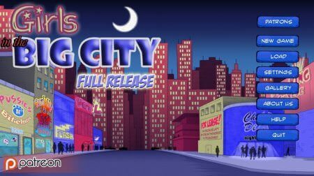 Girls in the Big City 1.1 Game Walkthrough Download for PC