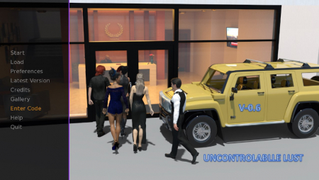 Uncontrollable Lust 0.8 PC Game Walkthrough Free Download for Mac