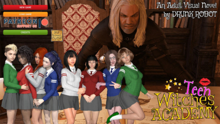 Teen Witches Academy 0.20 PC Game Walkthrough Free Download for Mac
